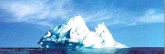 Iceberg-haut